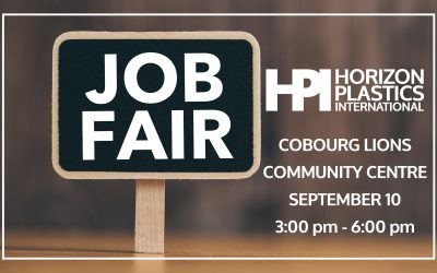 Horizon Plastics Job Fair – Cobourg Lions Community Centre – September 10th